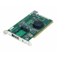 ADAPTEC FIBRE CARD 9110G COPPER KIT PCI 64 CARD 1GB FIBRE CHANNEL(UP2GB/SEC)