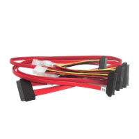 Кабель SAS Cable, SFF-8484 to 4x SFF-8482, длин 1 метра, SAS-043, Negorack
