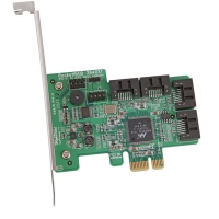 Контроллер HighPoint RocketRAID 2640x1(RTL) PCI-Ex1, 4port-int SAS/SATA 3Gb/s,RAID 0/1/5/10/JBOD