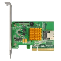 Контроллер HighPoint RocketRAID 2710(RTL) PCI-Ex16, 4port-int SAS/SATA 6Gb/s,RAID 0/1/5/6/10/50/JBOD