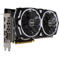 GeForce GTX1060 MSI PCI-E 6144Mb (GTX 1060 ARMOR 6G OCV1)